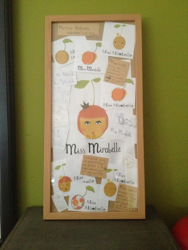 Cadre Miss Mirabelle