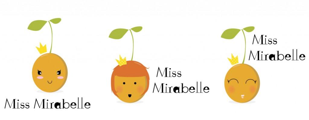 Mirabelle personnifiée